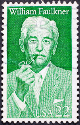 William Faulkner Postage Stamp