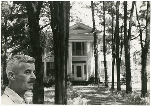 William Faulkner at Rowan Oak, Oxford, MS