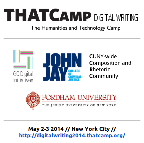 Sponsors for THATCamp Digital Writing