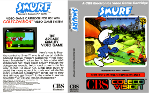 "Smurf: Rescue in Gargamel's Castle. Video Game Box. ""Five Things - 1.12.14"" Timid Futures."